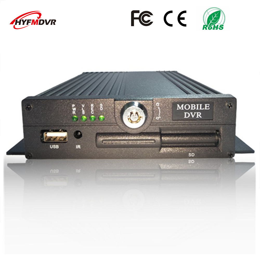 4CH MDVR AHD coaxial on-board monitoring host SD card car video recorder AV/RCA interface NTSC/PAL system футболка детская bodo цвет белый 4 86u размер 86 92