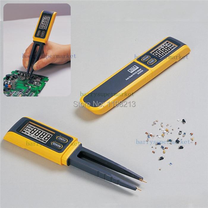 VA503 Handheld Tweezers Digital Resistance Capacitance Diode Test Multimeter Meter R/C SMD 3999max reading+Relative Measurement meter ut61a transistor resistance digital capacitance measurement test three and a half