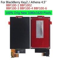 "1 5 lcd Shyueda 100% Orig New 4.5"" For BlackBerry Key2 Key 2 Athena BBF100-1 BBF100-2 BBF100-3-4-6 LCD Display Touch Screen Digitizer (1)"