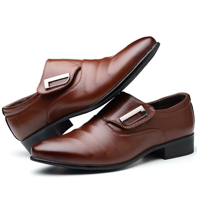 Cuir En Loisirs slip Les Parti 02 Chaussures Non 01 Hommes Qualité Tous Match Respirant Bottes Adulte Doux Mode Robe Haute De wZTxIFFq
