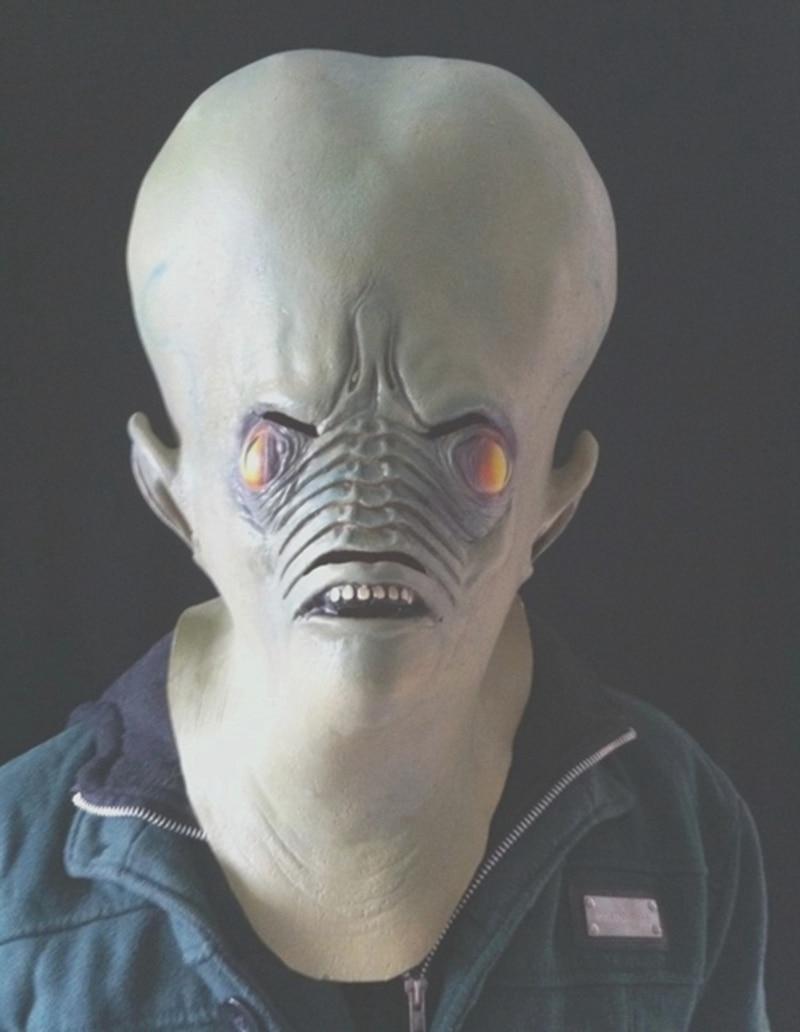 Hohe Qualität Latex Horror hässliche kreatur Maske mode Realistische ...