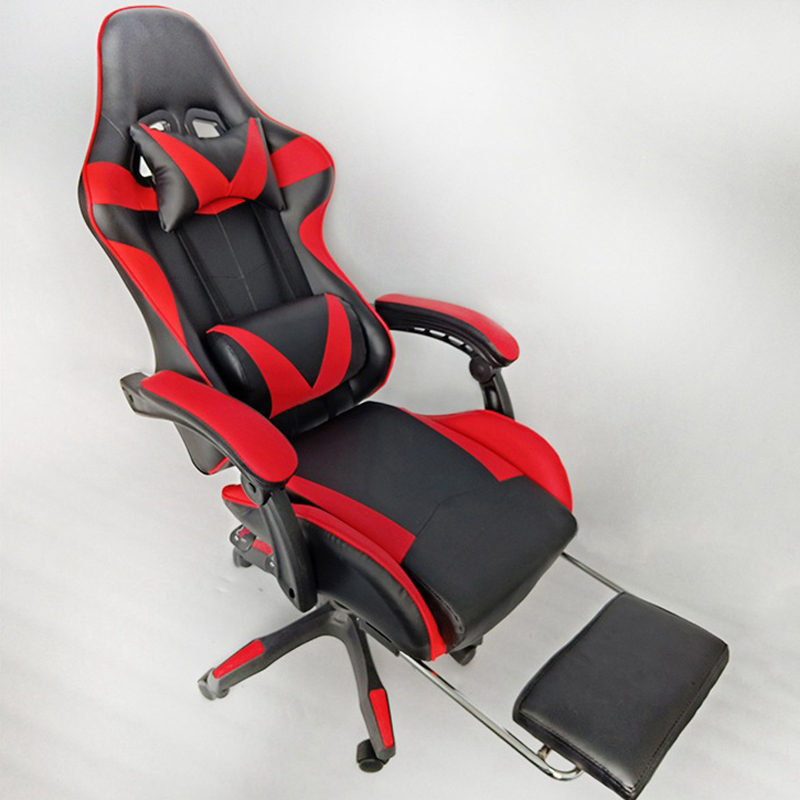 2019New Arrival Racing Synthetic Leather Gaming Chair Internet Cafes WCG Computer Chair Comfortable Lying Household Chair