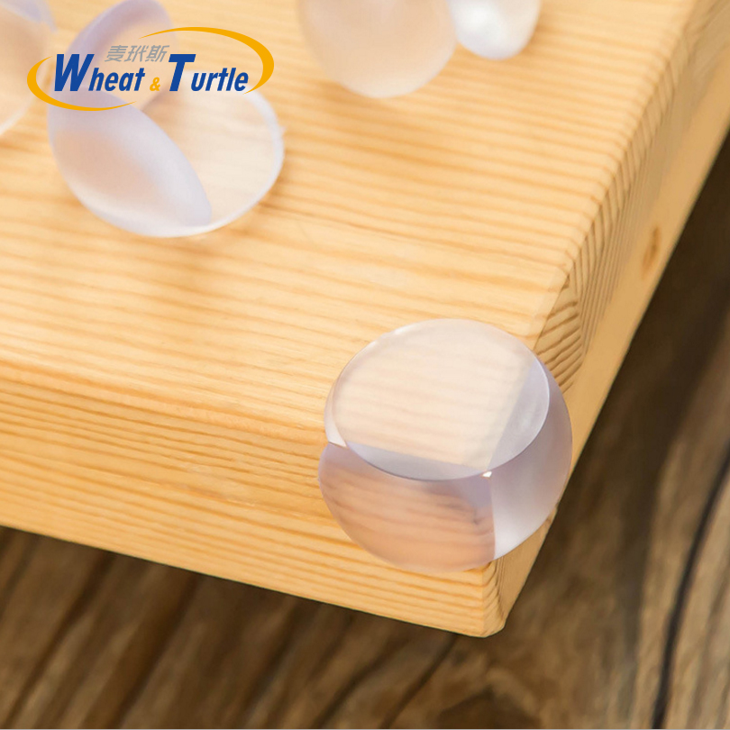 5Pcs / Lot Baby Child Safety Silicone Protector Cover Table Corner Protector Cover Child Kids Anticollision Edge Corner Guards