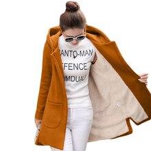 בתוספת גודל 3XL 4XL סתיו גלימת סגנון בתוספת קטיפה ארוך סווטשירט נים נשים Moletom Feminino הסווטשרט מעיל נשים בגדי C4902