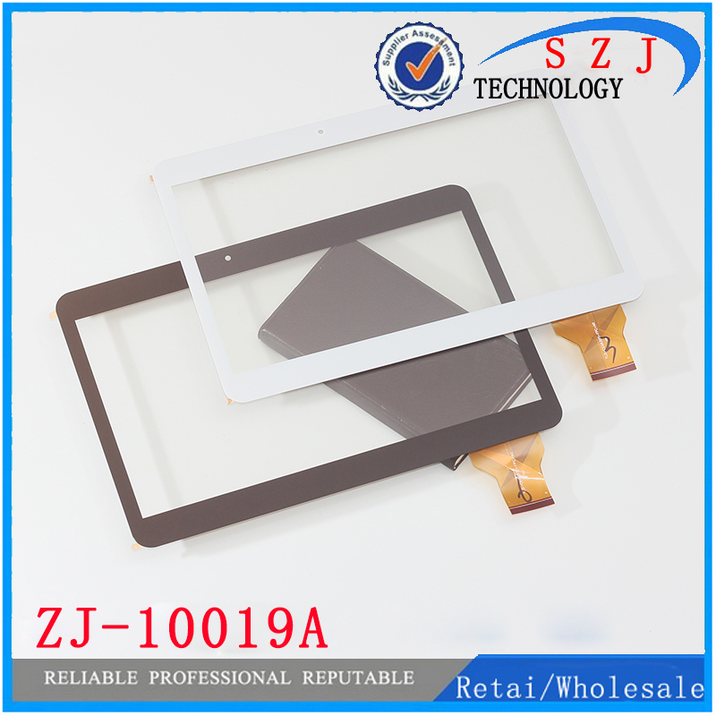 New 10.6'' inch capacitive touch screen for ZJ-10019A black ZJ 10019A for Samsung A3LGTP1000 Touch panel Free shipping 10pcs new 7 inch tablet pc mglctp 701271 authentic touch screen handwriting screen multi point capacitive screen external screen