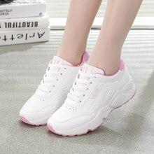 Spring Fashion Women Casual Shoes Pu Lea