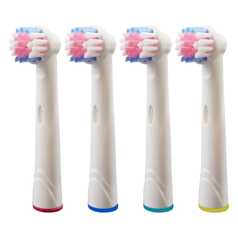 12 piezas oral b cepillo de dientes eléctrico de los jefes de ... 68271e5e95dd