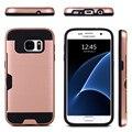 Гибридный Броня Держатель Карты Обложка Чехол Для Samsung Galaxy S4 S5 S6 S7 Edge Plus примечание 3/4/5/7 J1, J5 J7 A3 A5 A7 C5 C7