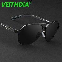 a3735529953f7 VEITHDIA Men Polarized Sunglasses Driving Mirror Coating Goggles Aluminium  Magnesium Glasses oculos Eyewear Accessories 2605