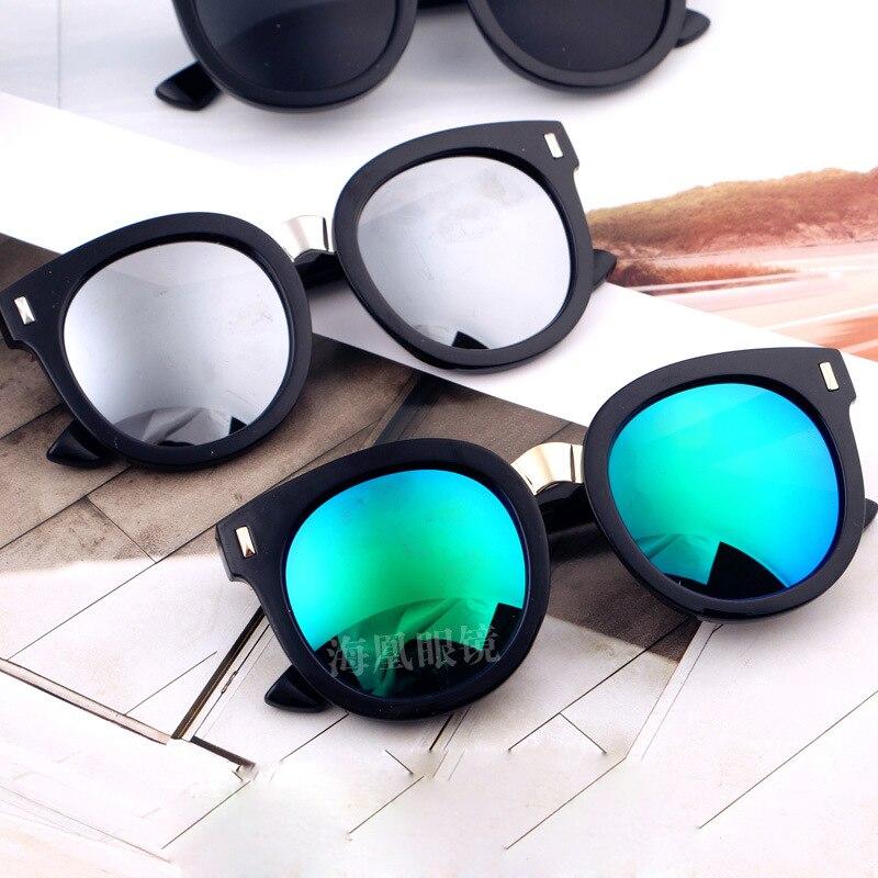 b954ffc8c 2019 المضادة للانعكاس الأشعة فوق البنفسجية حماية الأزياء المسامير النظارات  الشمسية الفتيان الفتيات الاطفال oculos دي سول بارد الأطفال نظارات N705