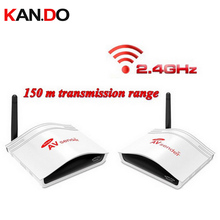 226 av Transmitter Receiver support reverse control Smart 2.4GHz Wireless AV Sender TV Audio Video adapter Transmitter Receiver