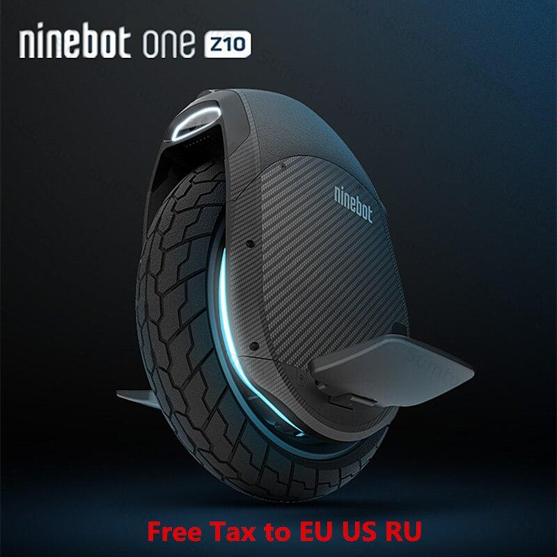 2018 D'origine Ninebot Une Z10 Z6 Auto Équilibrage Électrique Scooter 45 km/h Soutien Bluetooth APP Pliable Monocycle Moteur Hoverboard