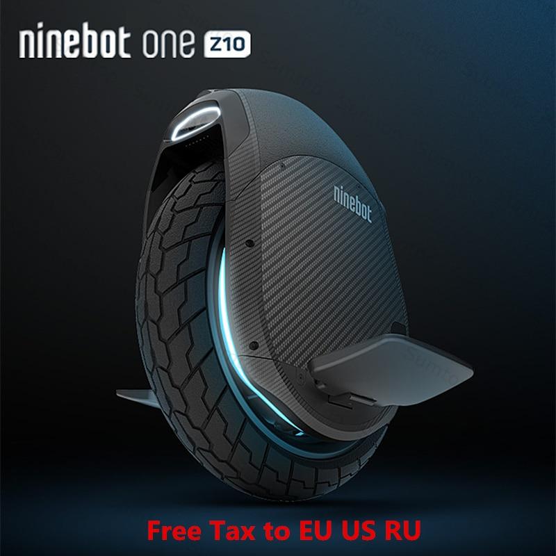 2018 Originale Ninebot Un Z10 Z6 Auto Bilanciamento Scooter Elettrico 45 km/h Supporto Bluetooth APP Pieghevole Monociclo Motore Hoverboard