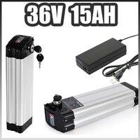 36v 15ah electric bicycle battery 36v silver fish e bike battery