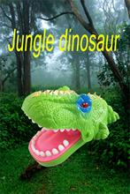 Creative Practical Jokes Dinosaur Dentist Game Toy Mouth Tooth Alligator Bite Hand Family Games Classic Biting Finger Toys