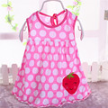 Baby Dresses Princess Girls Dress 0-2years Cotton Clothing Dress Summer Clothes For Girl