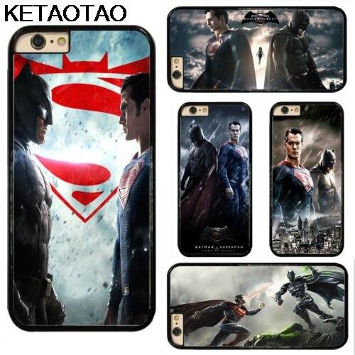 KETAOTAO Super Heros Batman VS Superman Phone Cases for Samsung S3 S4 S5 S6 S7 S8 S9 NOTE 4 5 7 8 Case Soft TPU Rubber Silicone