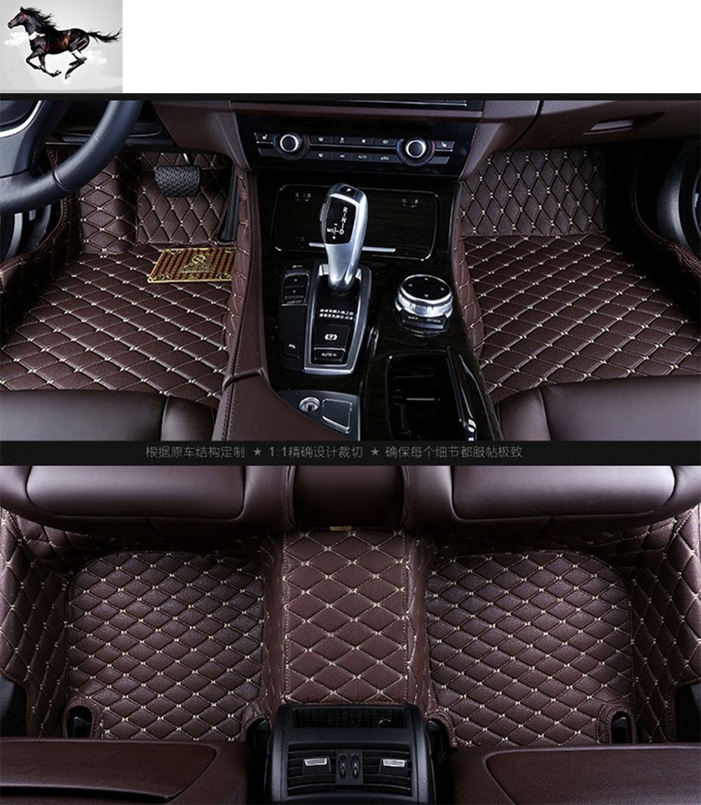 Custom full set car floor mats carpets for infiniti qx70 waterproof leather 3d floor mats suv cargo mats floor liners foot mats