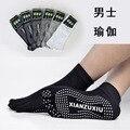 Hombres unisex de algodón 5 calcetines del dedo del pie