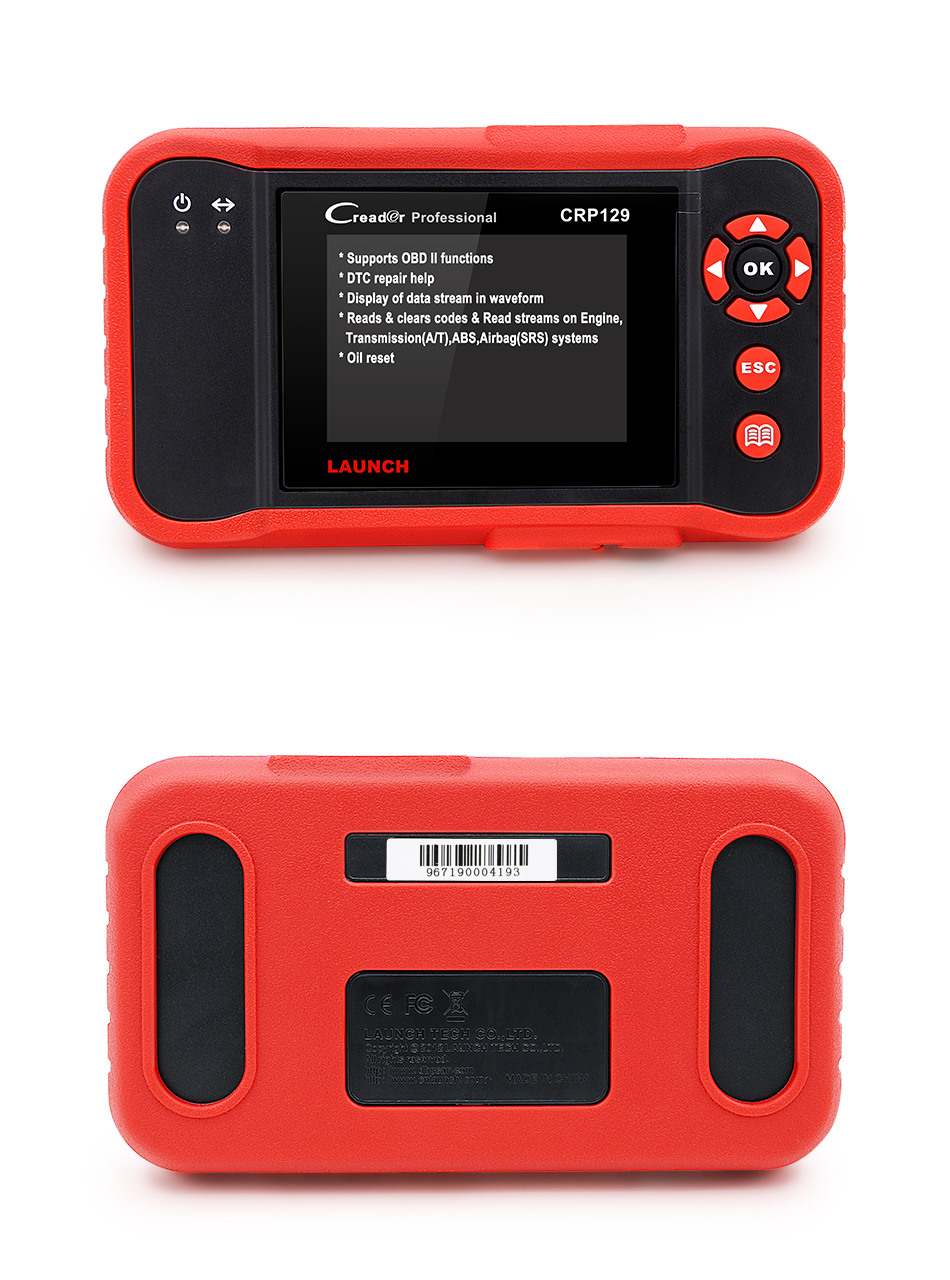 launch creader obd2 code reader scanner Creader CRP129 (3)