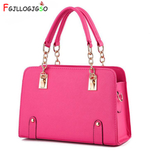 FGJLLOGJGSO Women Shoulder Bags 2019 Female Pu Leather Handbag Sac A Main For Lady Luxury Designer Tote Brand