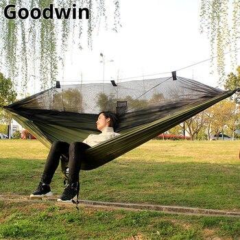 260*140cm Mosquito Net Hammock Outdoor Furniture camping hamak cama garden furniture hamac hangmat hamaca bed muebles