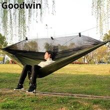 260*140cm hamak z moskitierą meble ogrodowe camping hamak cama meble ogrodowe hamak hangmat hamaca łóżko muebles