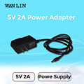 WAN LIN UK US EU Type Power Adapter DC 5V 2A CCTV Power Supply 3.5mm x 1.35mm  Plug Power Adapter WIFI Camera