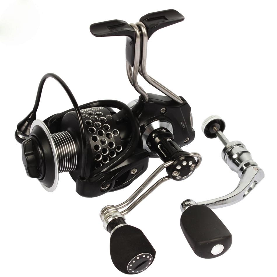 Full metal fishing reel spare spool spinning reel for Reel steel fishing