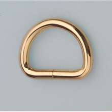 4.0mm 20mm 3 4 inch inside gold color open d ring belt buckle hardware 50a18def84ab