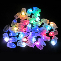 100pcs Lot Halloween Decorations Colorful LED Lamps Balloon Lights For Paper Lantern Balloon Christmas Party Decoration