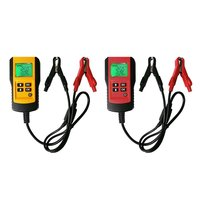 AE300 12V Vehicle Car Digital Battery Test Analyzer LCD Display Automotive Battery Load Tester Accurate Diagnostic