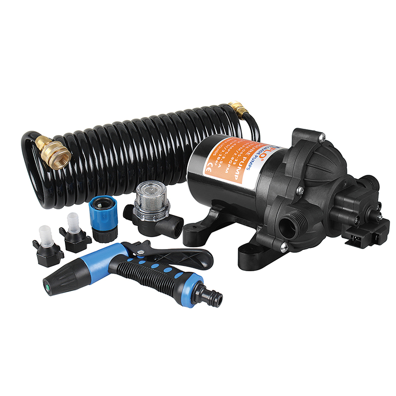 SEAFLO 70 PSI Washdown Spray Deck Pump Kit 3.0 GPM Boat Marine RV Replace Jabsco Shurflo seaflo dc 12 v marine boat parts for water pump 55 psi 7 5a general industrial