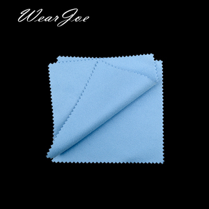 Image 2 - Paño de microfibra para limpieza de joyas, tela de microfibra antideslustre, con logotipo a medida, disponible en 12 colores, plateado y dorado, 500
