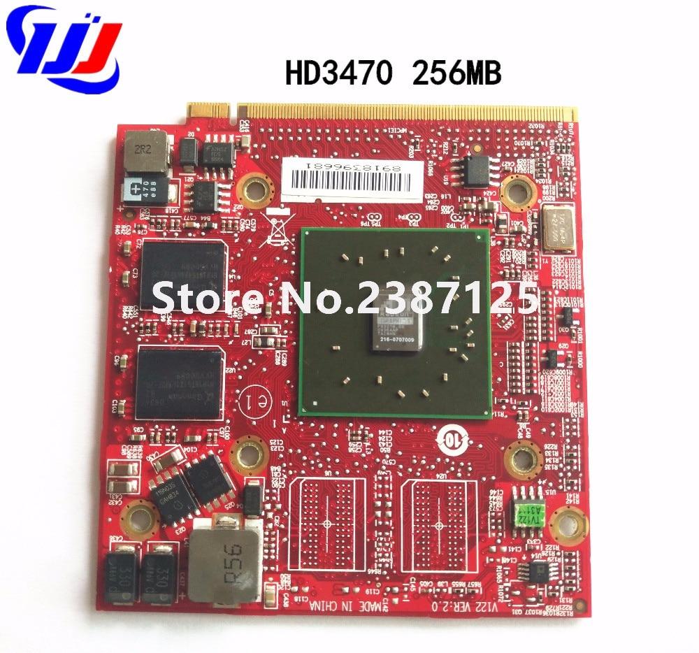 Pour ATI Mobility Radeon HD 3470 HD3470 256 mb Vidéo Carte Graphique pour Un c e r A s p ire 4920g 5530g 5720g 6530g 5630g 5920g