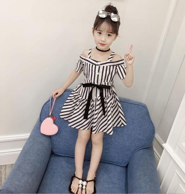 f49758bb97 Summer dresses, children's wear, girls' dresses, summer wear, new products  2018 baby girl clothes Kid Children's wear