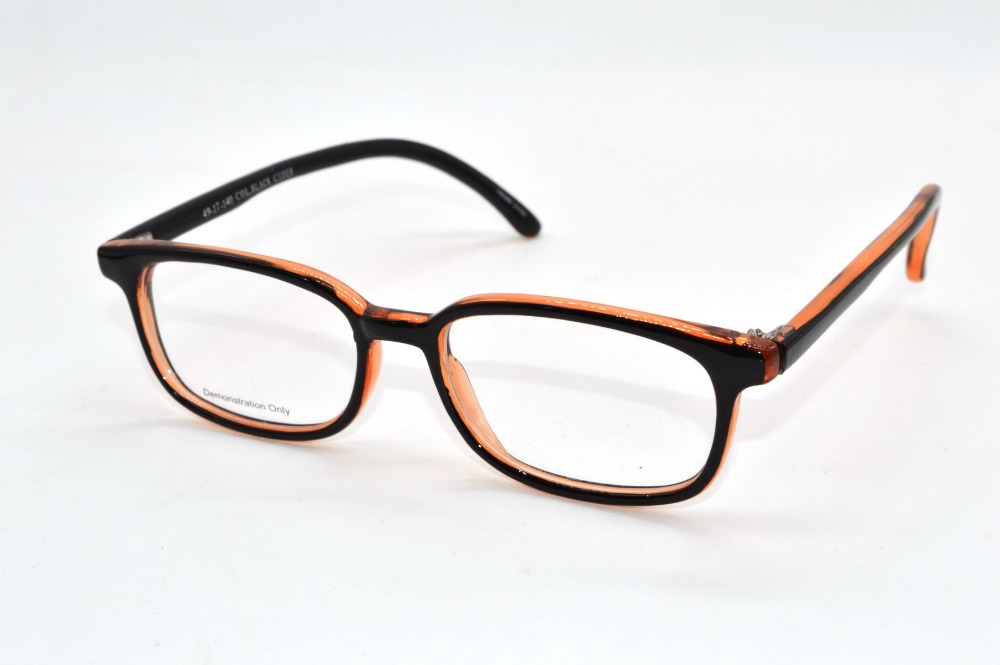 full handmade optical rim acetate frames ultralight brown gradient custom made prescription reading glasses photochromic
