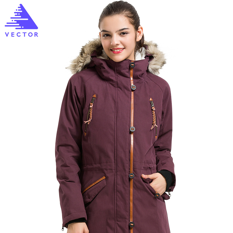 VECTOR Winter Outdoor Jacket Women Thermal Waterproof Jacket Ladies Cotton  Ski Jacket Female Camping Hiking Jackets 60028-in Hiking Jackets from  Sports ... 80a3a324c