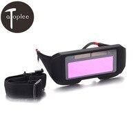 1Pcs Solar Auto Darkening Welding Goggles Helmet Eyes Welder Glasses Welder Labour Workin Safety Protective Eyewear