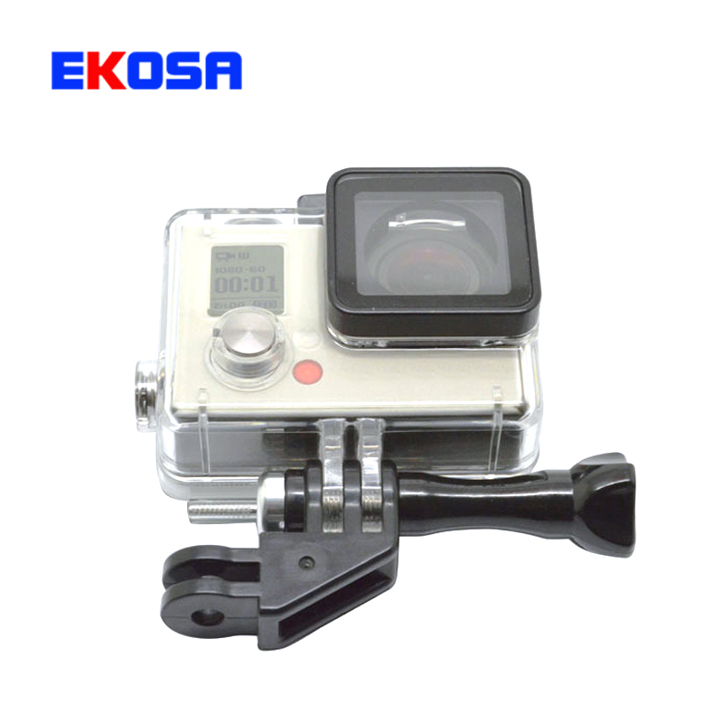Go pro accessories 90 degree Adapter Mount With Screw For GoPro Hero 4/3+/3/2/1/ SJ4000/Xiaomi yi Sport camera GP280