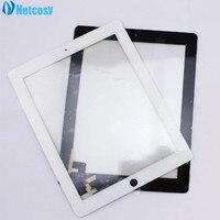 Netcosy Сенсорный экран планшета спереди touch Панель Стекло объектив для iPad 2 Touch Экран запасные Запчасти TP ремонт Аксессуары