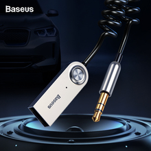 Baseus Bluetooth Adapter USB Dongles Cable For Car 3.5mm AUX Bluetooth