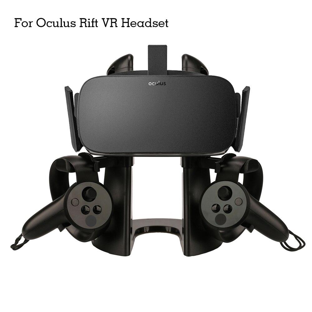 Casque VR monture pour support Présentoir pour Oculus Rift/Samsung Gear VR/HTC VIVE/Casque Pro Contrôleurs Support Accessoires
