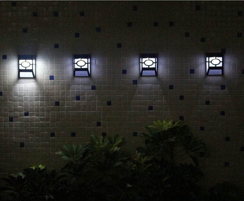 Lamparas solares para jardin con las mejores colecciones for Luz de led para exterior