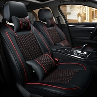 5 Seats Car Seat Covers for lincoln mks mkx mkc mkz saab 93 95 97 2013 2012 2011 2010