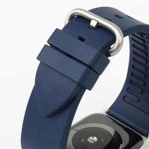 Image 5 - Izle aksesuarları serisi 5 4 3 2 1 için Apple saat kordonları 44mm 42mm & Apple saat kayışı 40mm 38mm kauçuk florokarbon saat kayışı