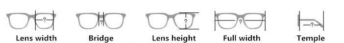 نظارات TR90 الراحة Sidra 15