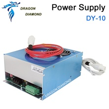 DY10 reci co2 power supply 80w for reci co2 laser tube w4 100w for co2 laser cutting machine цена
