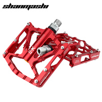 SMS Bicycle Pedals Super Wide Road Bike 6 Bearings Pedals Mountain Bike Pedals Aluminum Alloy Cycling