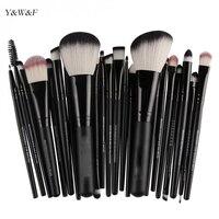 22 Pcs Professional Makeup Brush Set Blusher Eyeshadow Powder Foundation Eyebrow Lip Cosmetic Brushes Tool Kits
